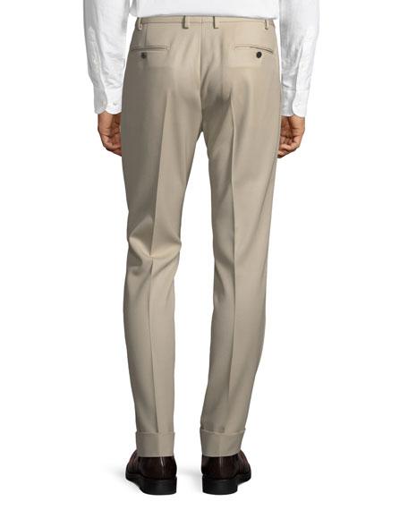 Casual Wool Pants