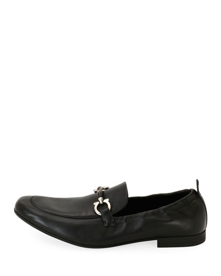 Men's Celso Elastic-Back Gancini Slip-On Loafer