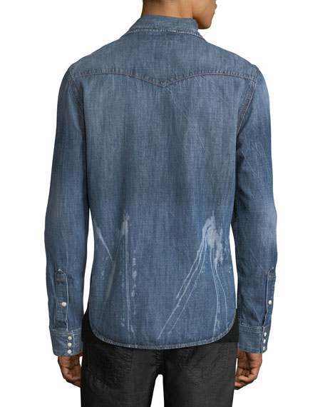 Ryan Denim Western Shirt