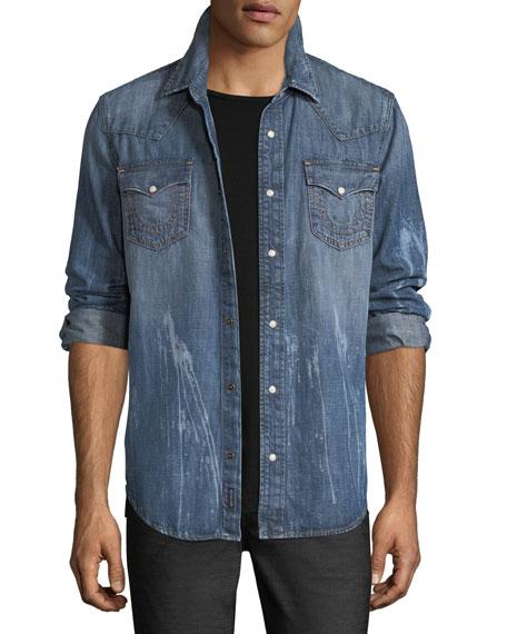 Ryan Denim Western Shirt