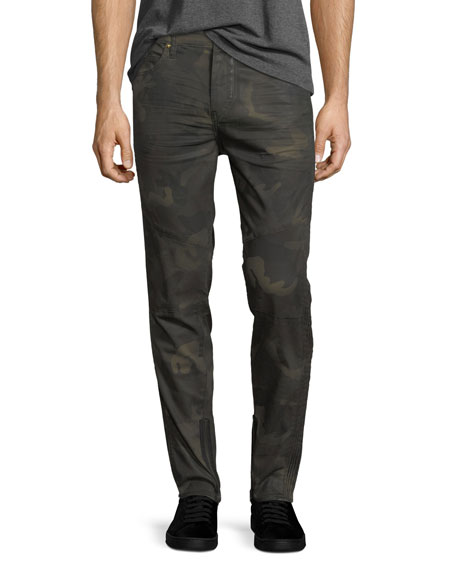 True Religion Racer Camouflage Tapered Skinny Jeans