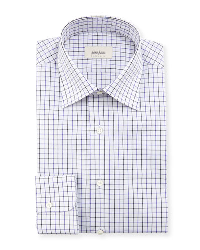 Tattersall Check Dress Shirt