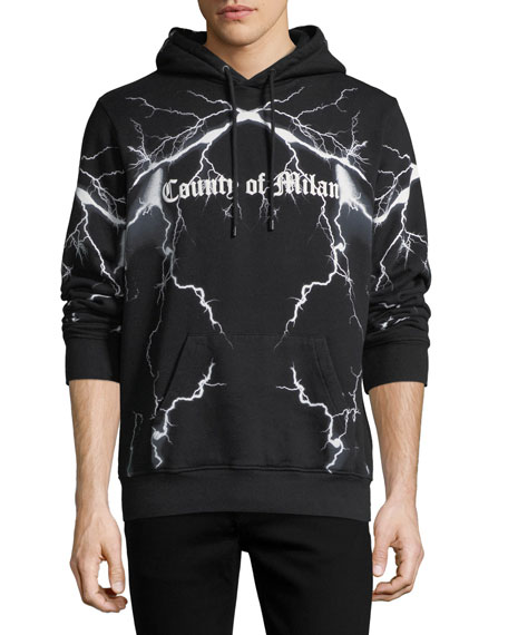 Marcelo Burlon Lightning County of Milan Sweatshirt