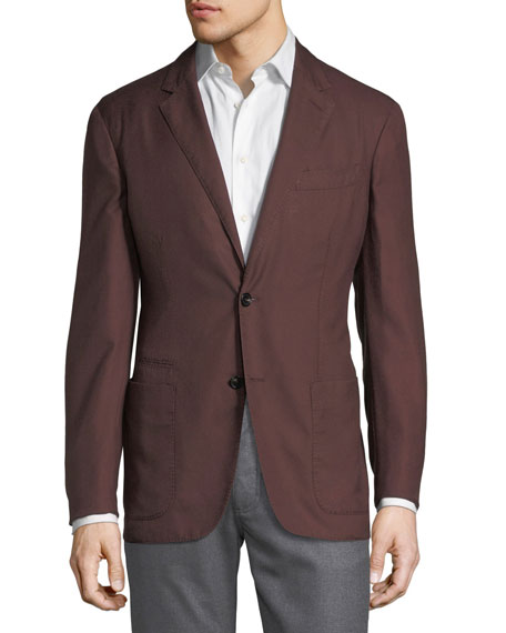 Ermenegildo Zegna Second Skin Two-Button Blazer