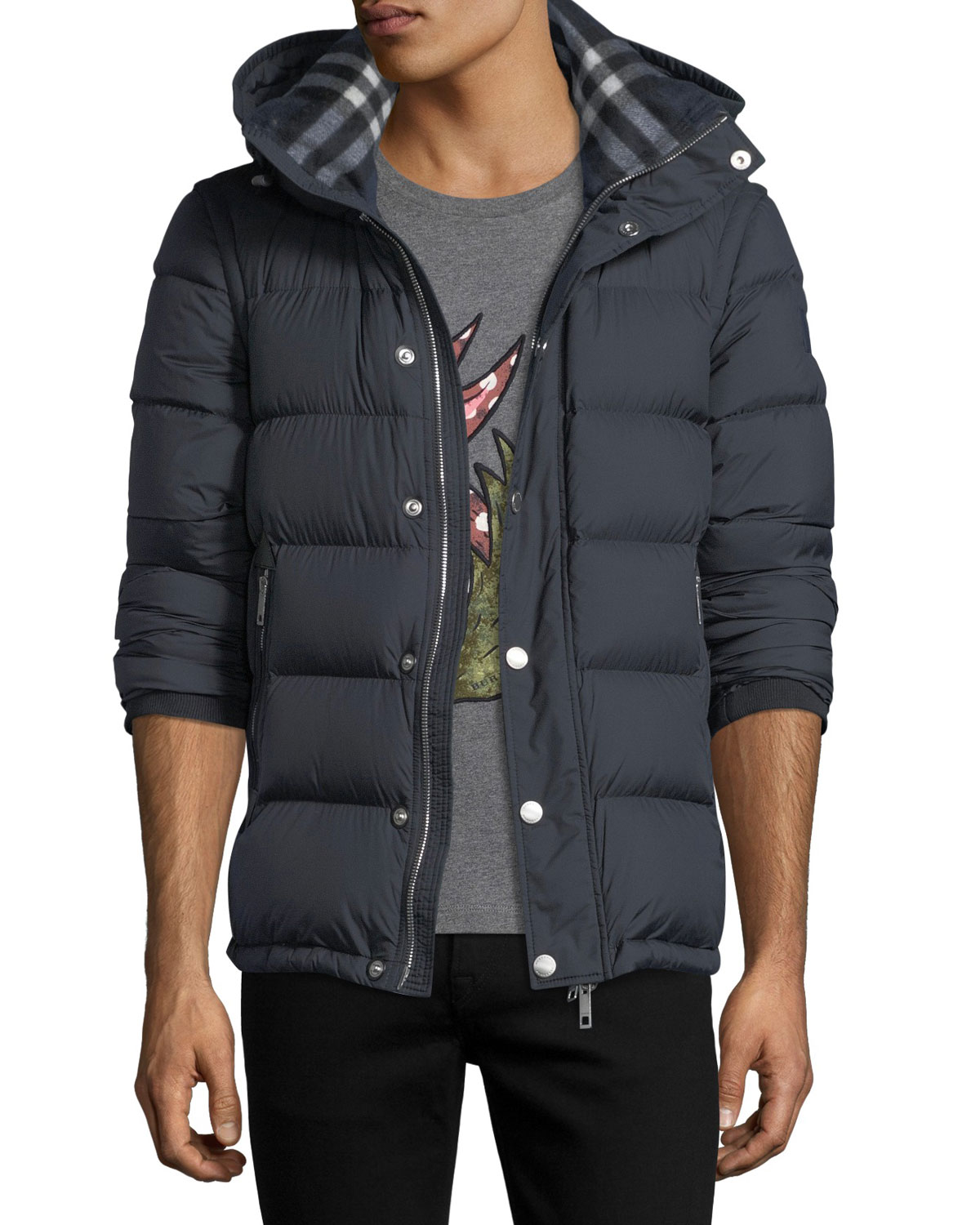 bf2bb5e603a1 Burberry Hartley Hooded Quilted Jacket