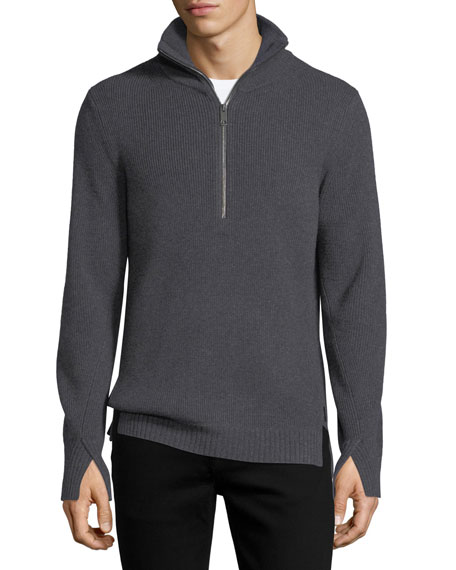 Burberry Rodwell Wool Zip Sweater