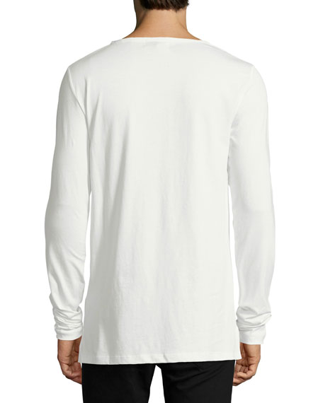 Tunley Typographic Long-Sleeve T-Shirt