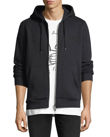 Burberry Fentford Embroidered Hoodie