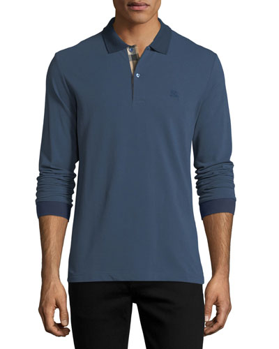Lawford Long-Sleeve Polo Shirt