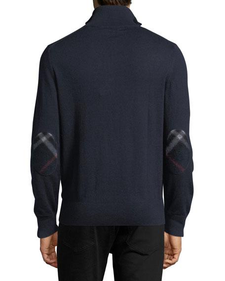 Rawlins Cashmere-Blend Sweater, Navy