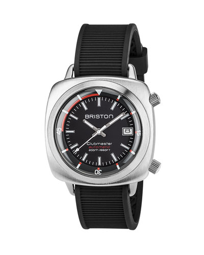 Clubmaster Diver Automatic Watch, Black