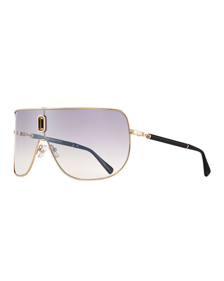 Balmain Metal Shield Sunglasses