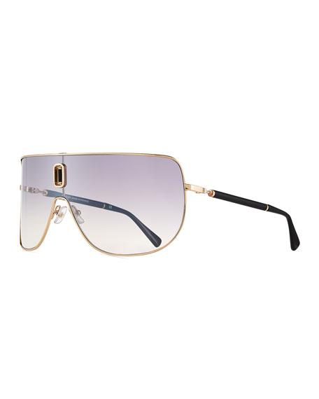 Balmain Metal Shield Sunglasses