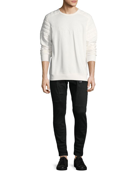 Powel Super-Slim Tapered Jeans, Rinsed