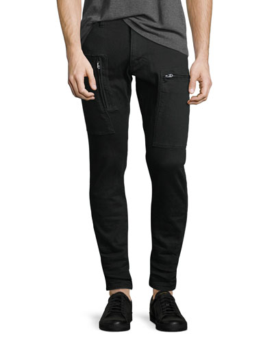 Powel Super-Slim Tapered Jeans, Rinsed