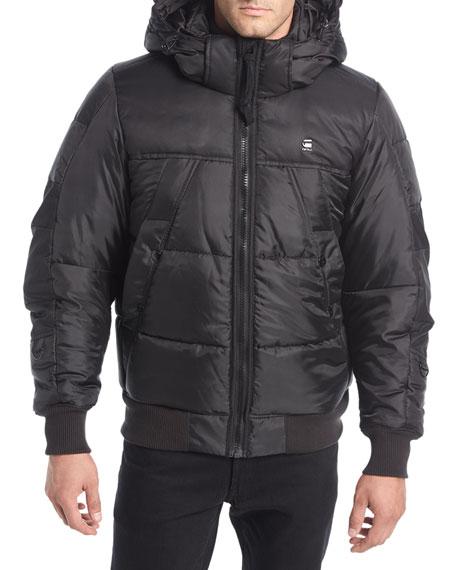 Whistler Hooded Puffer Bomber Jacket