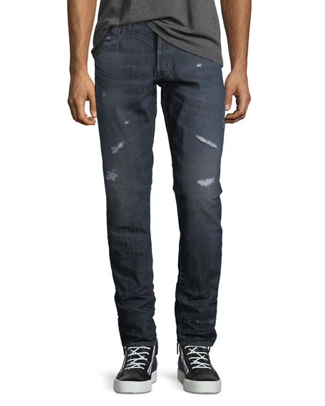 G-Star 3011 Tapered Jeans, Dark Aged Restored