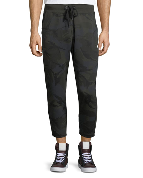 G-Star Core Camouflage Cropped Sweatpants