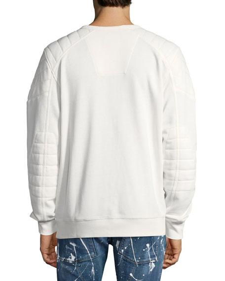 Odiron Suzaki Quilted Sweatshirt
