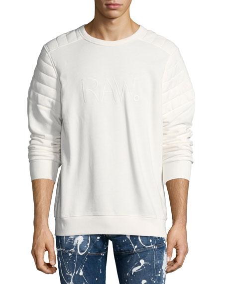 G-Star Odiron Suzaki Quilted Sweatshirt