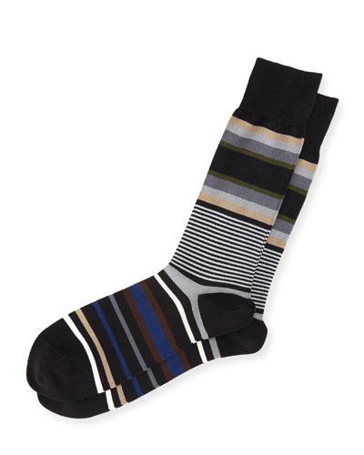 Lawn Striped Socks