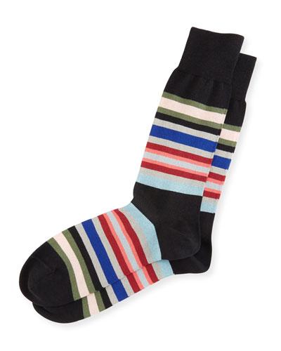 Kew Striped Socks