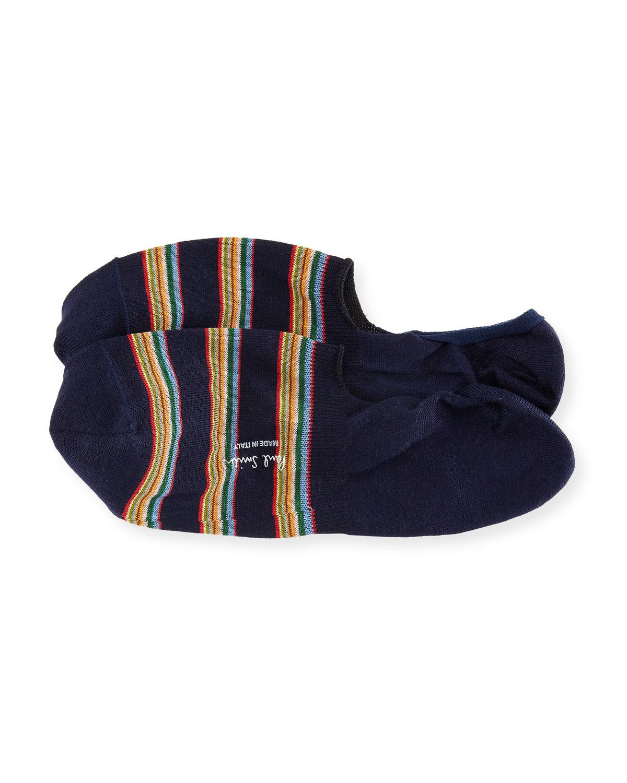 e2d70f81f26 Paul Smith Striped No-Show Loafer Socks