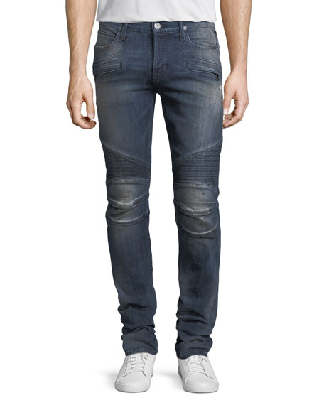 Men's Blinder Biker Jeans, Babylon