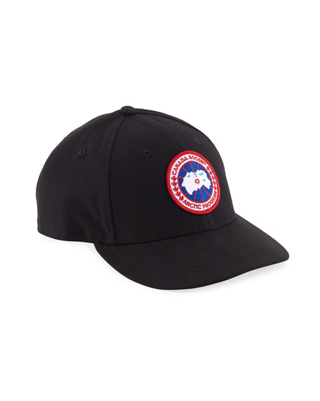 Canada Goose Core Logo-Patch Baseball Hat
