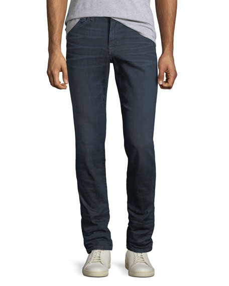 Men's Brixton Kinetic Denim Slim-Straight Jeans, Cale