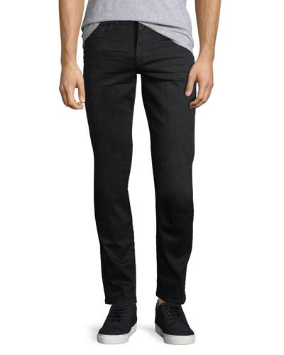 Brixton Kinetic Denim Slim-Straight Jeans, Black