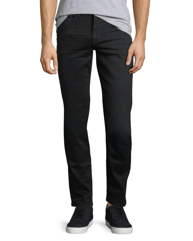 Men's Straight Jeans Denim Brixton JeansBlack Kinetic Joe's Slim erdCBxo