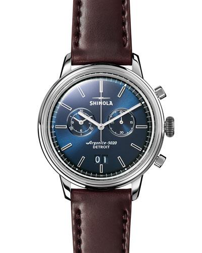 Men's 42mm Bedrock Chronograph Watch