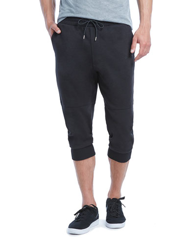 Military Sport Crop Sweatpants