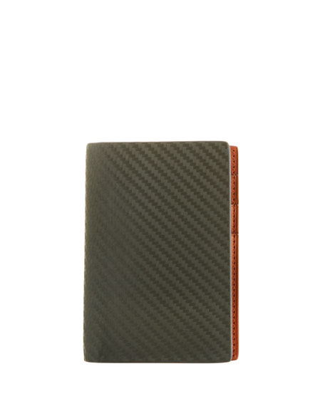 dunhill Chassis Leather Business Card Case