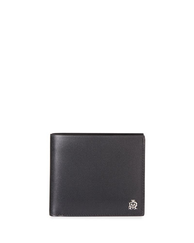 Chassis Leather Billfold Wallet, Black