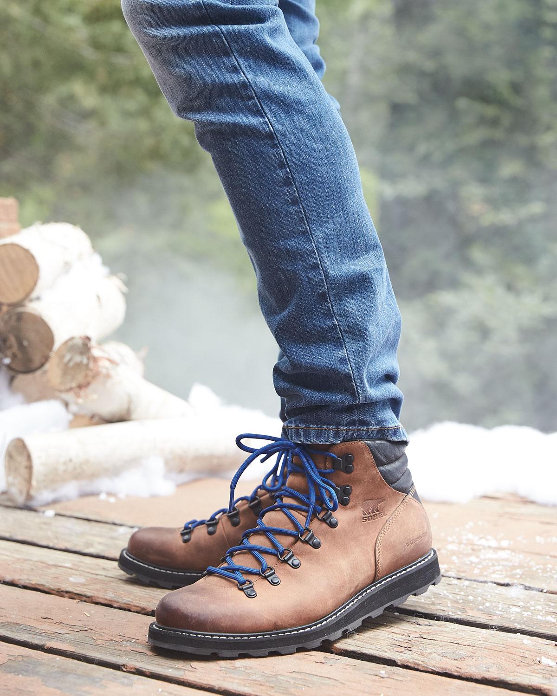 c8d7f93111b Madson Major Buffalo Waterproof Leather Hiker Boot