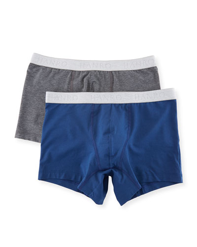 Two-Pack Cotton Essentials Boxer Briefs
