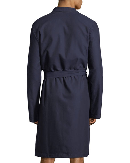 Select Cotton Shawl-Collar Robe