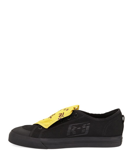 Men's Spirit Low-Top Sneakers, Black