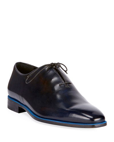 Profondo One-Piece Leather Shoe