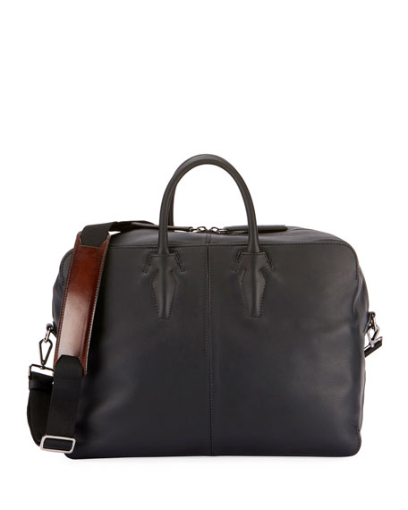 Men's Calfskin Leather Duffel Bag