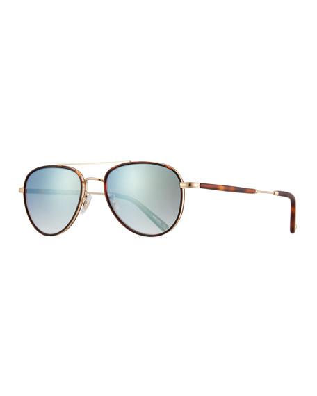 Garrett Leight Linnie 51 Tortoiseshell Sunglasses