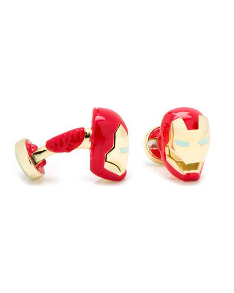 3D Iron Man Cuff Links