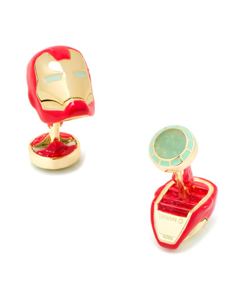 Cufflinks Inc. 3D Iron Man Cuff Links