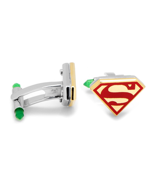 Cufflinks Inc. 3D Gold-Plated Superman Cuff Links ZT3mG