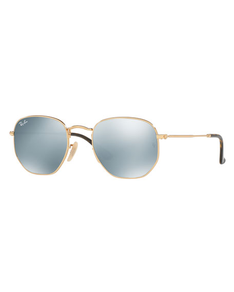 Ray-Ban Men's Round Metal Sunglasses