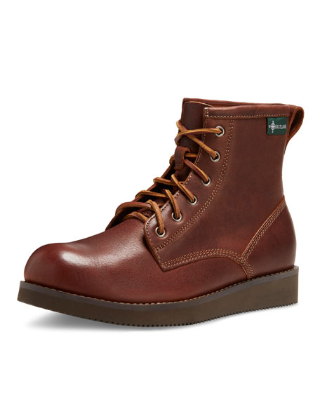 Kyle 1955 Leather Lace-Up Boot, Walnut