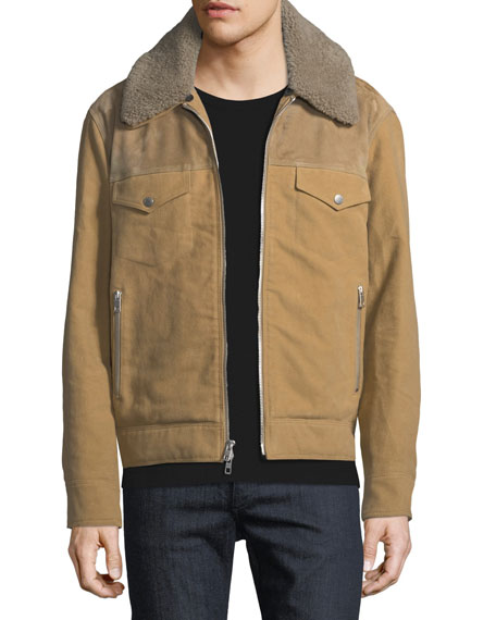 Men's Matthew Jacket with Removable Shearling Trim