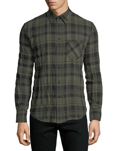 Fit 3 Base Herringbone Wool-Blend Shirt